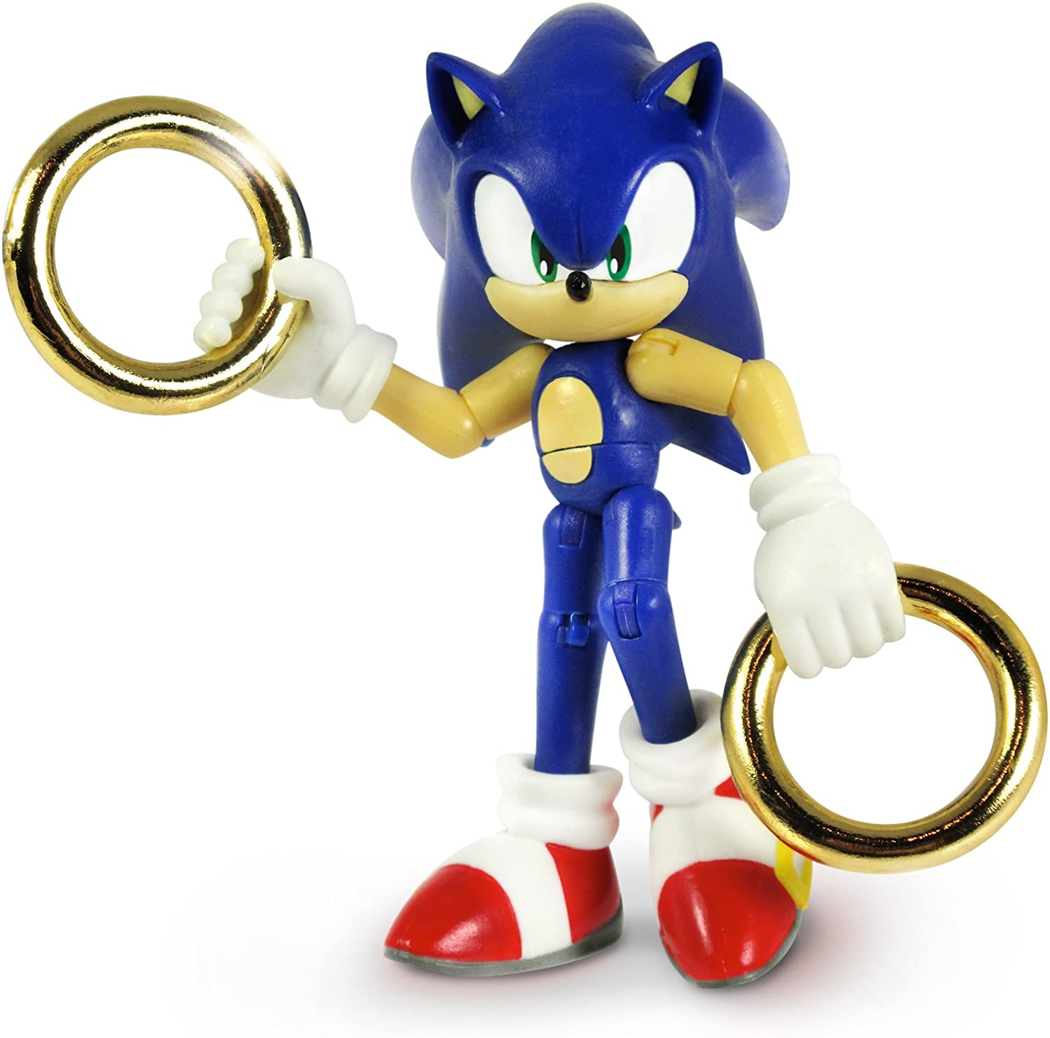 Amazon Com Sonic 3 Action Figure With 2 Rings Toys Games