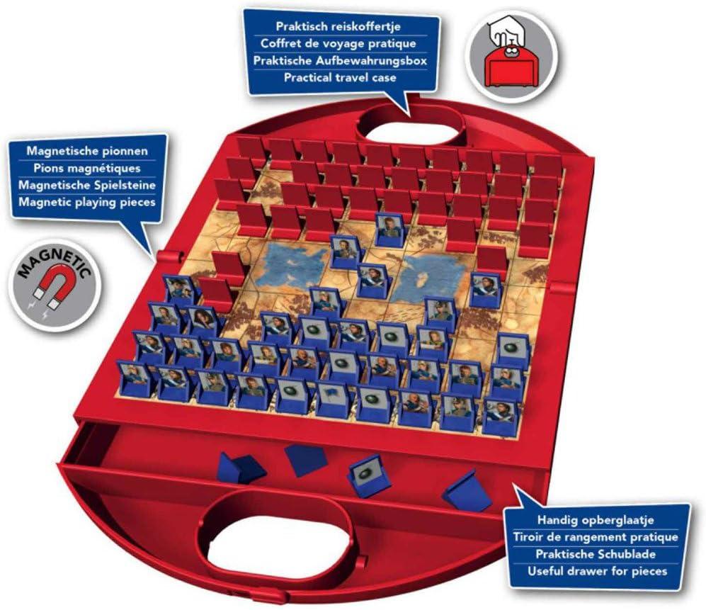 Jumbo Spiele 12761 Stratego Travel - Juego de Mesa de Estrategia (de Viaje, en alemán): Amazon.es: Juguetes y juegos