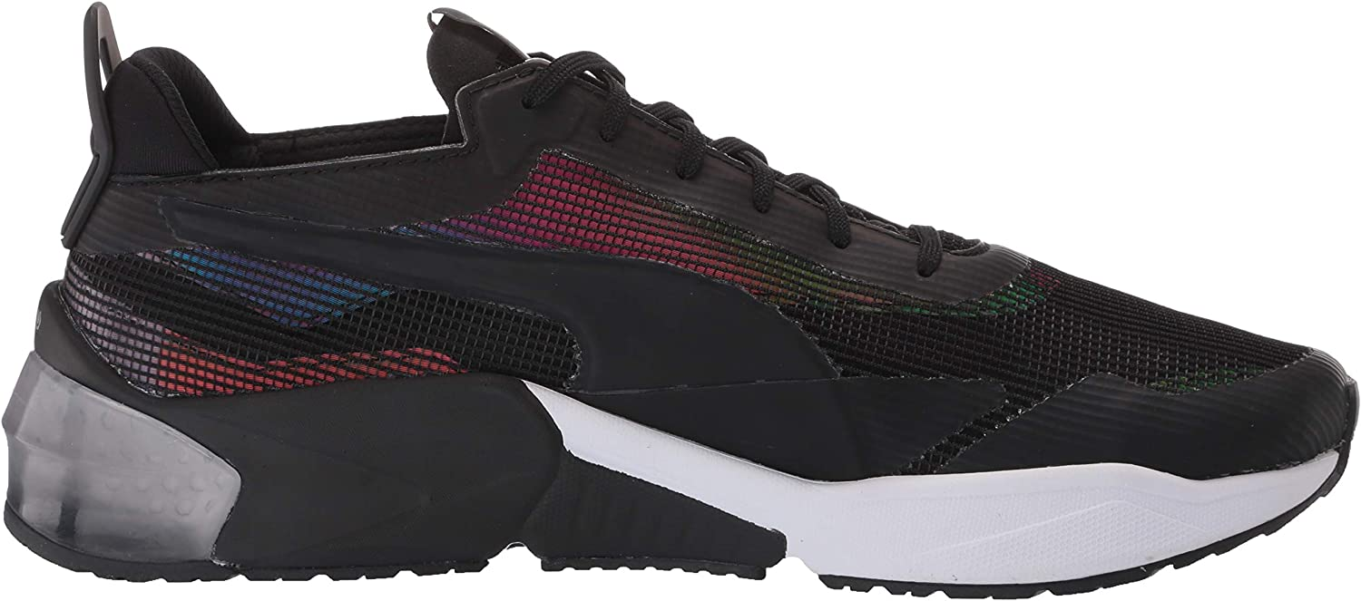 PUMA Lqdcell Optic, Basket Mixte Puma Black
