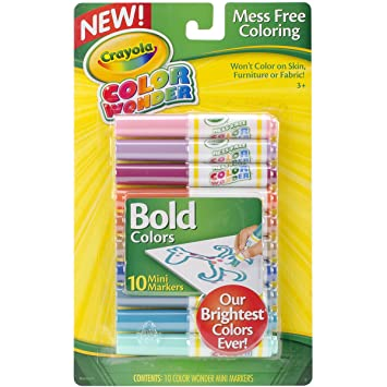 crayola bold color wonder mini markers - Skin Color Markers