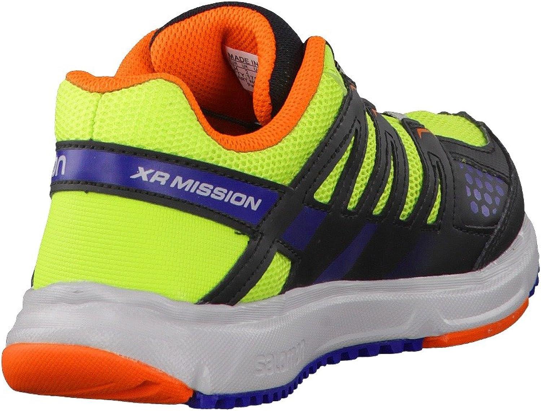 Salomon - Zapatillas de Running para niño Verde Verde/Arancione 33: Amazon.es: Zapatos y complementos