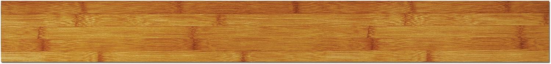 Protile 40002 Protile 4-Inch by 36-Inch Dryback Vinyl Planking Wood Grain Flooring, Bamboo Finish