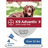 Deals on 4-Pack K9 Advantix II Flea and Tick Prevention for Dogs