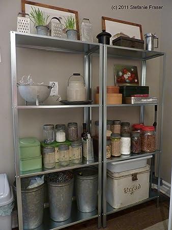 indoor shelf ikea hyllis galvanised large shelf unit indoor or outdoor use