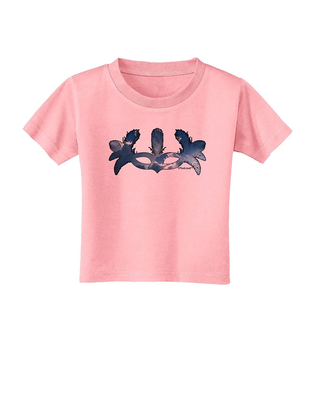TooLoud Air Masquerade Mask Toddler T-Shirt