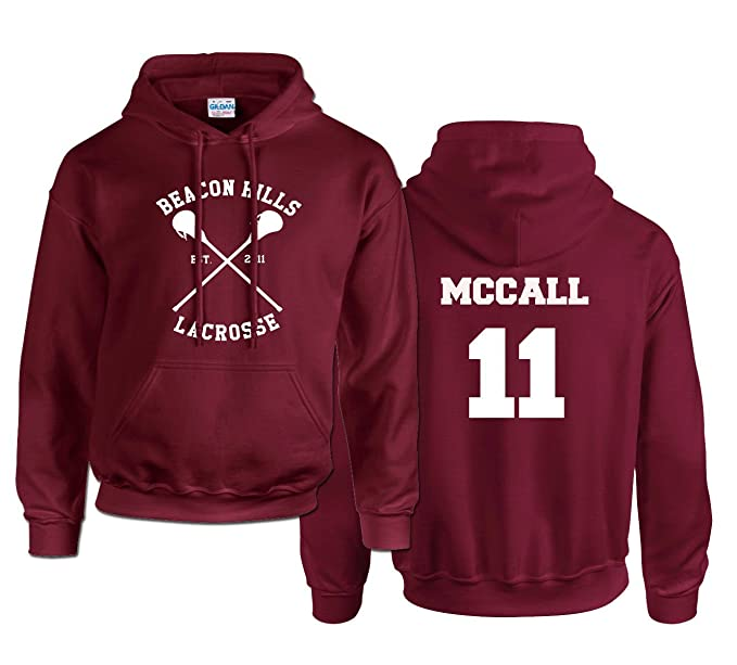 McCall 11 Hoodie (MAROON, XXL)