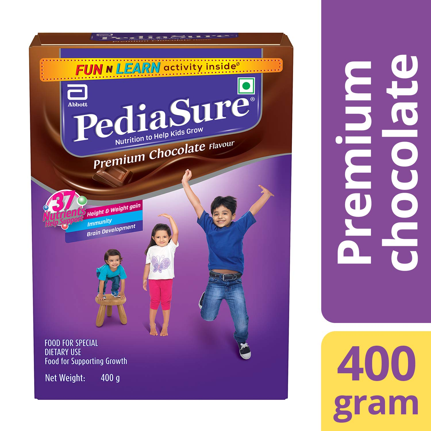 Buy Pediasure Health Nutrition Drink Powder For Kids Growth 400g Enfagrow A Plus 3 1800 Gram Vanilla Box Chocolate Online At Low Prices In India