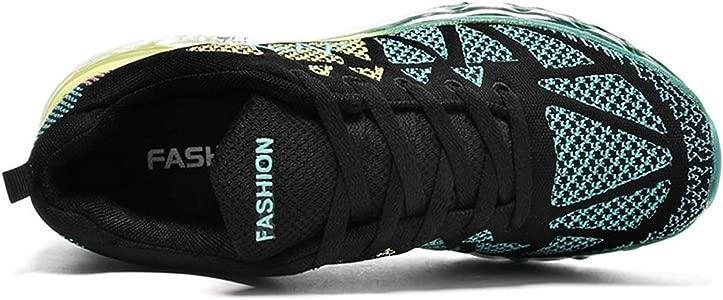 Zapatos para Correr en Montaña y Asfalto Aire Libre y Deportes Zapatillas de Running Padel para Hombre Mujer