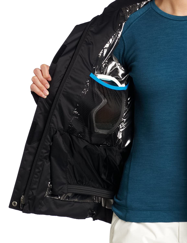 Amazon.com: Columbia Women's Lay 'D' Down Jacket, Black, X-Small ...