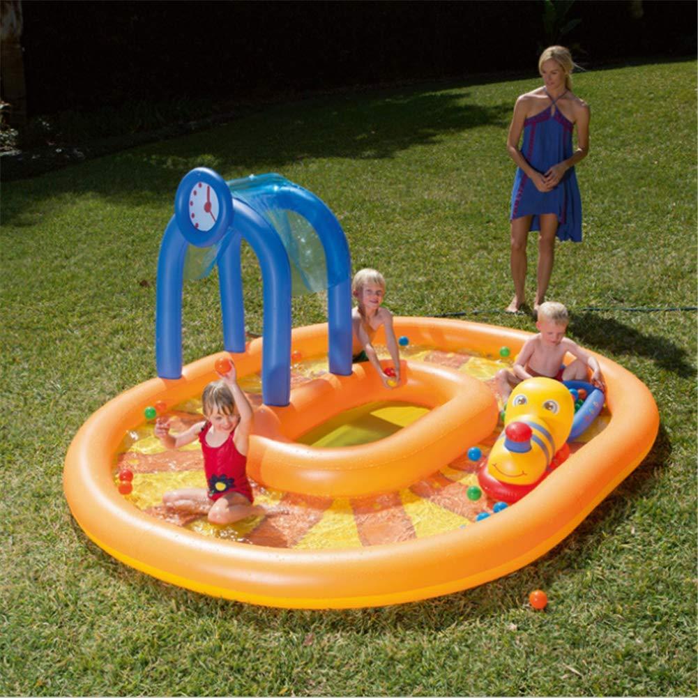 Amazon.com: Pequeñas piscinas hinchables para tren, piscinas ...