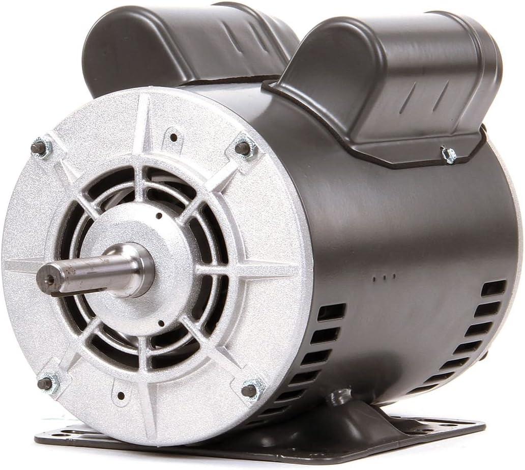 Dayton 1-1/2 HP Belt Drive Motor, Capacitor-Start, 1725 Nameplate RPM, 115/208-230 Voltage, Frame 56H - 4YU31