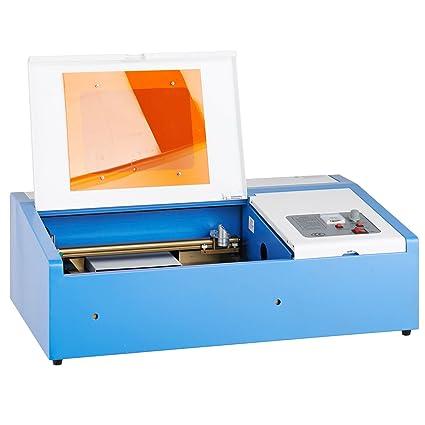 Amazon com: 40W CO2 Laser Engraving Cutting Machine Engraver