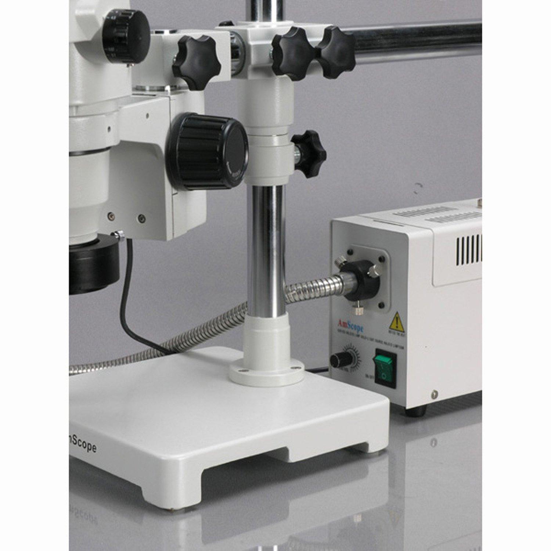 AmScope ZM-3B-FOR 6,7X-45X Trinokulares Zoom Mikroskop mit einarmigen einarmigen einarmigen Auslegerstativ Stereo Okulare WH10X 22 Aufsatz für Foto und Videokamera mit 150W Halogen Kaltlichtquelle Ringlicht B004TI3G6Y   Vielfältiges neues Design    Heißer Verkauf    Ver 98d7a1