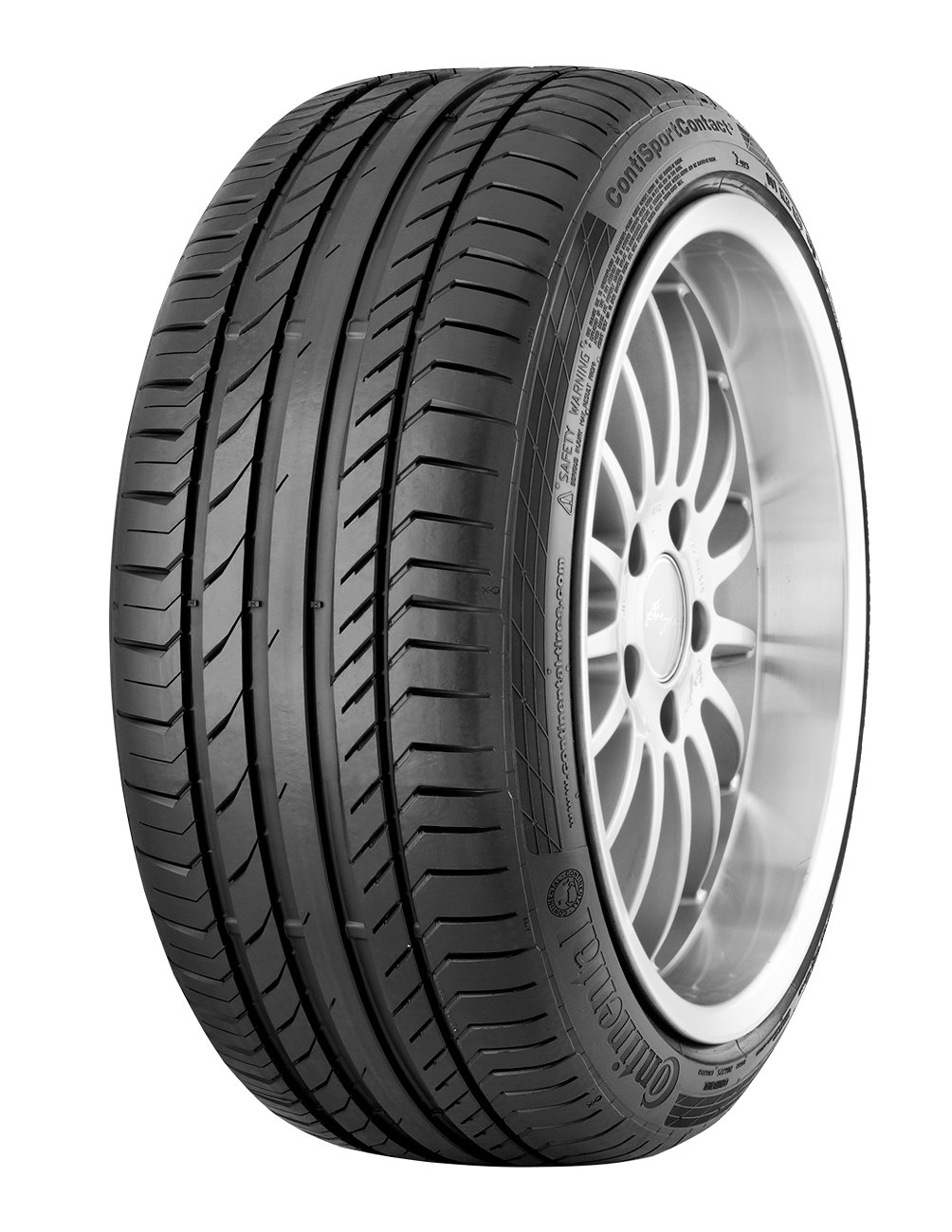 "Continental - Contisportcontact 5 - 245/40R18 97Y - Summer Tyre (Car) - C/A/72""discontinued by manufacturer"" Continental Corporation"
