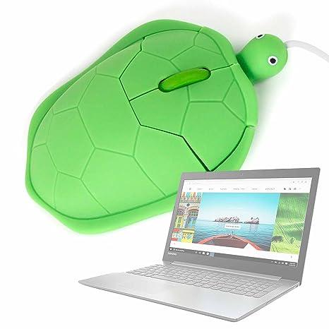 DURAGADGET Ratón con Forma De Tortuga para Portátil HP Omen 15-ax014ns / Lenovo Flex 5 81CA000AUS / Lenovo Ideapad 330: Amazon.es: Electrónica
