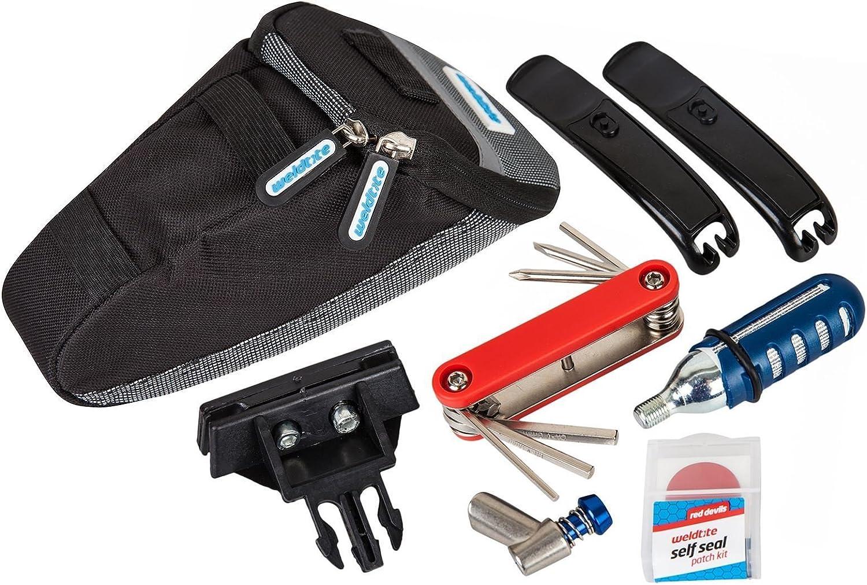 Weldtite – Kit de reparación de pinchazos de bicicleta ciclo bomba ...