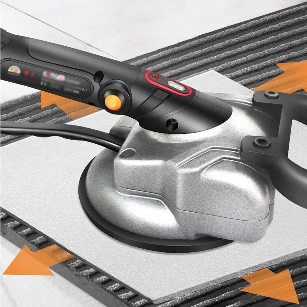Color : 1 Battery DDSS Portable Tile Vibrator for 100x100cm Tiles Floor Plaster Machine Tile Laying with Battery Automatic Floor Vibrator Leveling Tool //-//