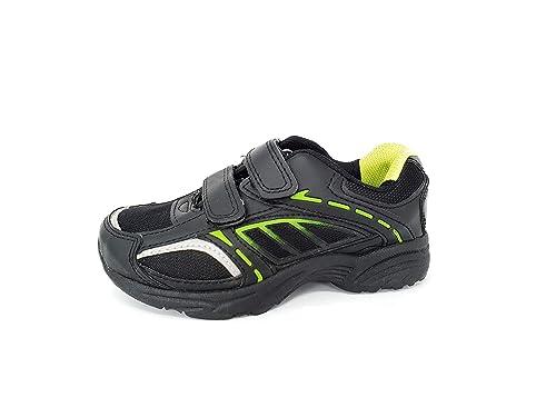 Carcassi - Zapatilla Baja de Sintético Unisex niños, Color Negro, Talla 26 EU: Amazon.es: Zapatos y complementos