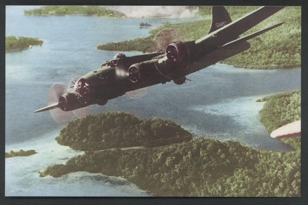 Amazon.com : FLYING FORTRESS B-17 Gizo Solomon Islands WWII Bomber Army  Aircraft Guadalcanal : Everything Else