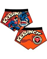 Mens Superman Cartoon Character Novelty Cotton boxer shorts Underwear 724