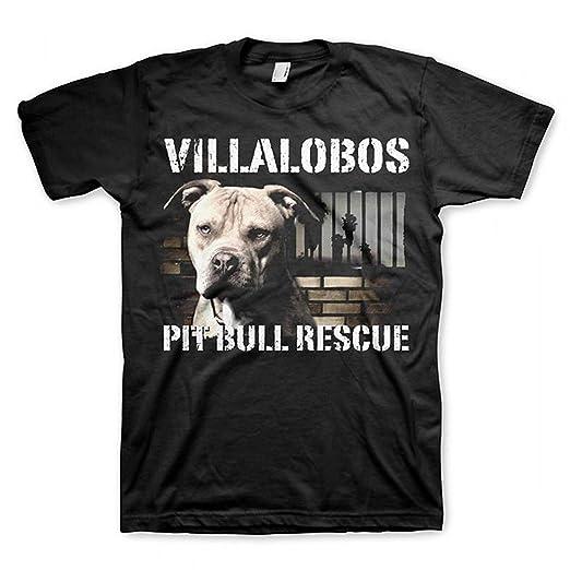 50cb945ea1195d Amazon.com: Coddonn Mens Villalobos Rescue Center Pit Bull Rescue T ...