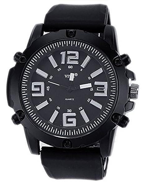 Joy of Aisyice Dubai Silver Racer Edition ASSA Black Silver - Reloj para Hombres