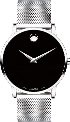 Amazon.com: Movado Museum Stainless Steel Watch (Model: 0607219): Watches