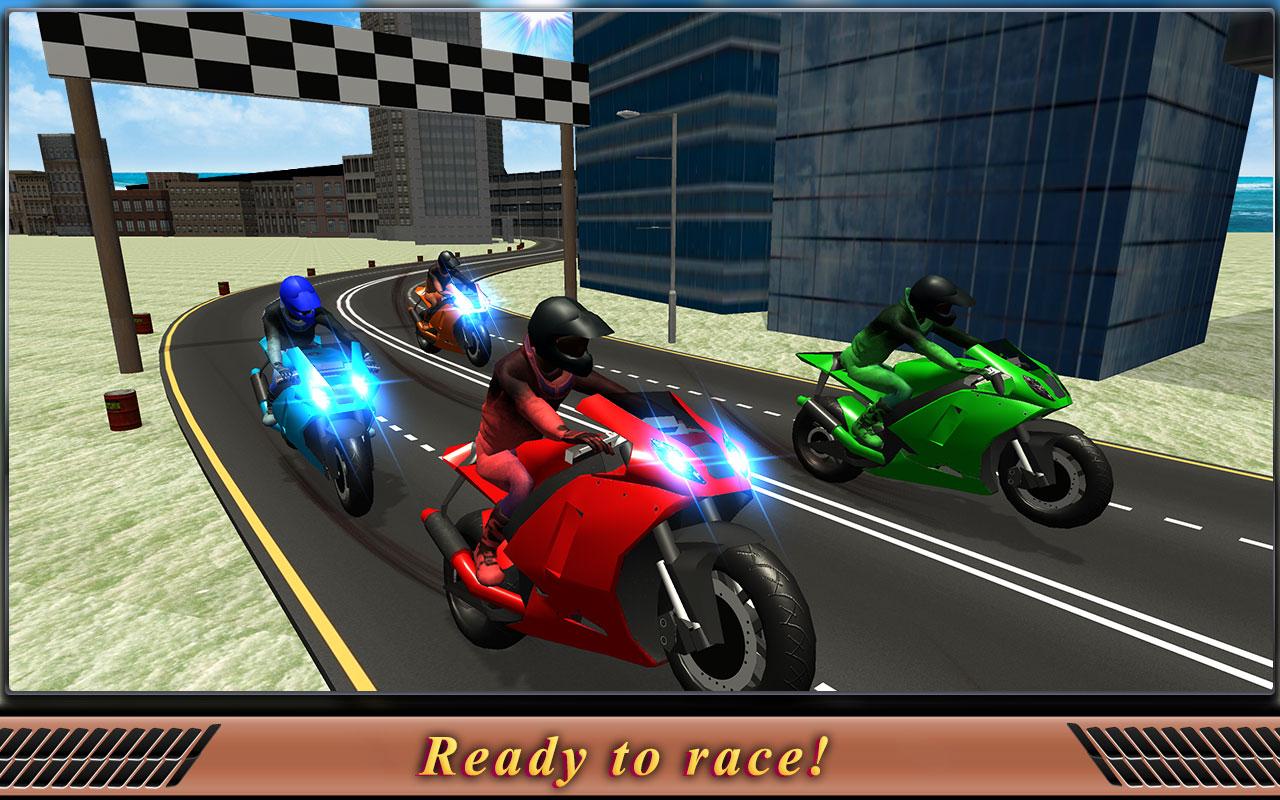 Motorcycle Flying Simulator Game: Drift Bike Race Top Free Games