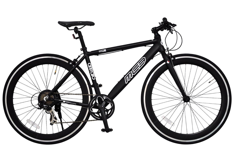 ANIMATO(アニマート) クロスバイク MC3 AN301 マットブラック B013UF232O