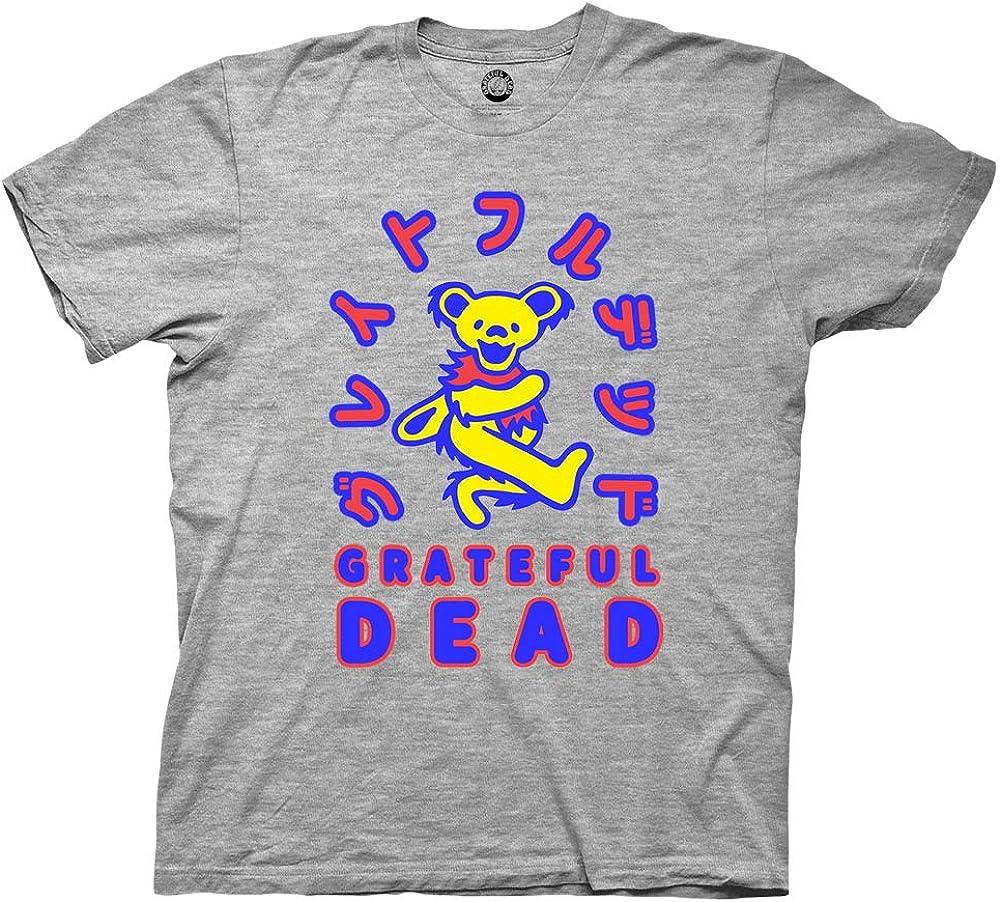 Mens Grateful Dead Rock Shirt - Grateful Dead Steal Your Face Skull Dancing Bear Vintage Tee
