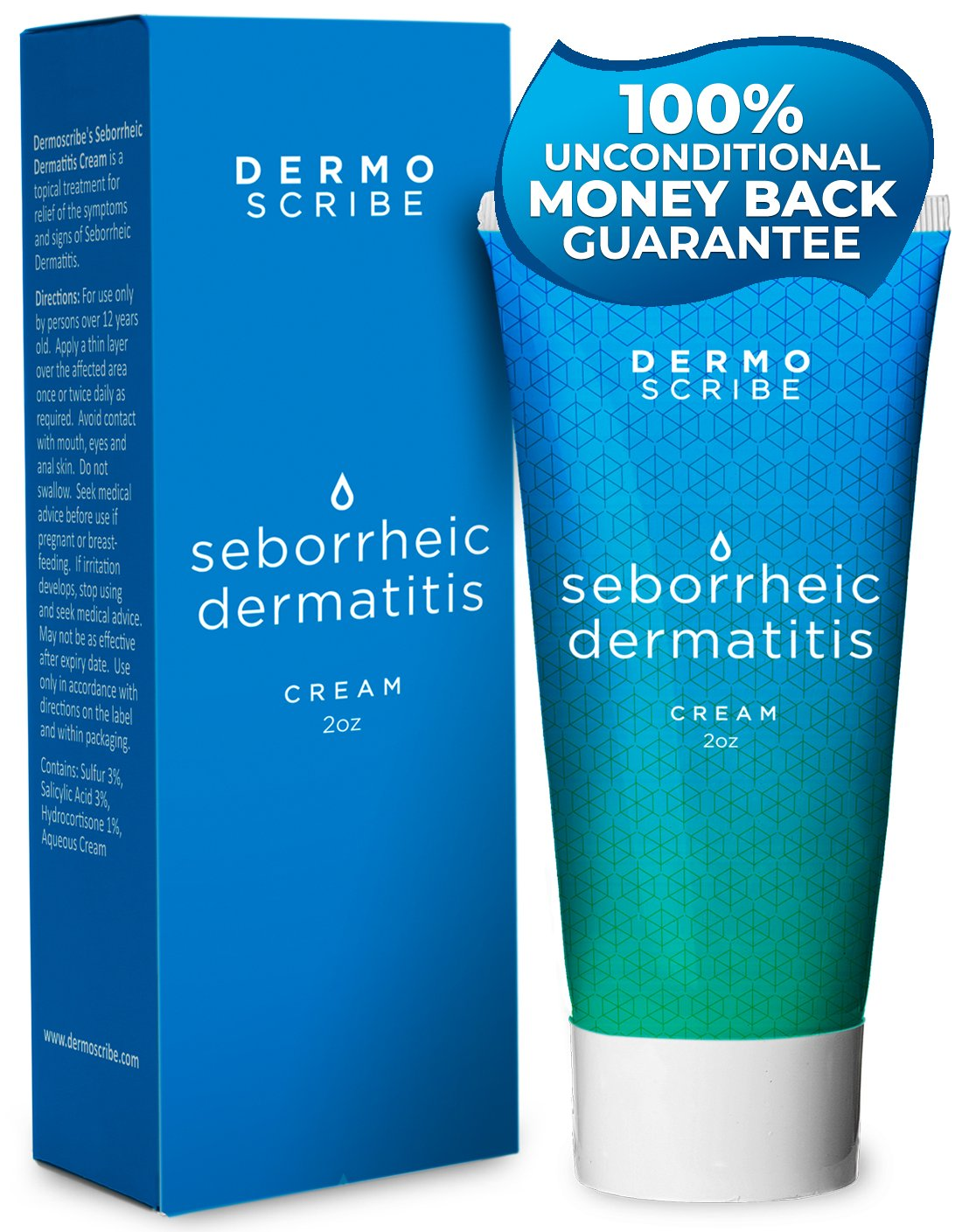 Dermoscribe's Seborrheic Dermatitis 2oz by Dermoscribe