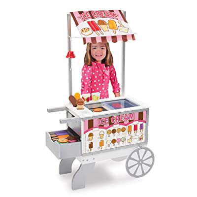 Melissa & Doug Snacks & Sweets Food Cart: Melissa & Doug: Toys & Games