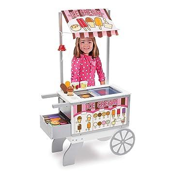 Doll toy trolley ice cream cart night point trolley children/'s t LA