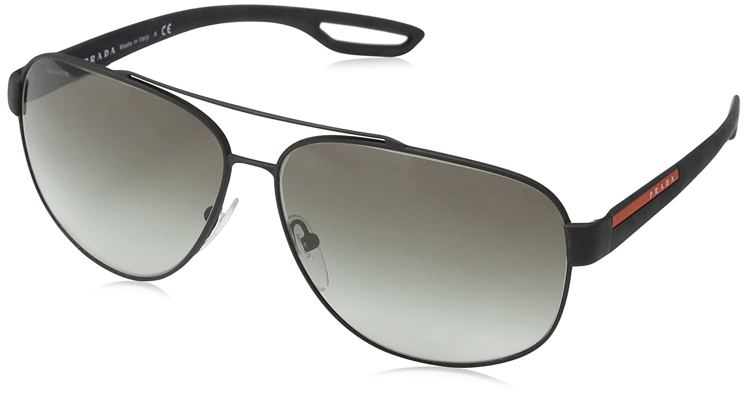 d9047d0fa736f Prada Sport - Gafas de sol Mod.58QS para hombre  Amazon.co.uk  Clothing