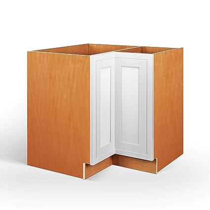 Amazon Com Inset Modern Shaker Style Rta Birch Wood Storage Base