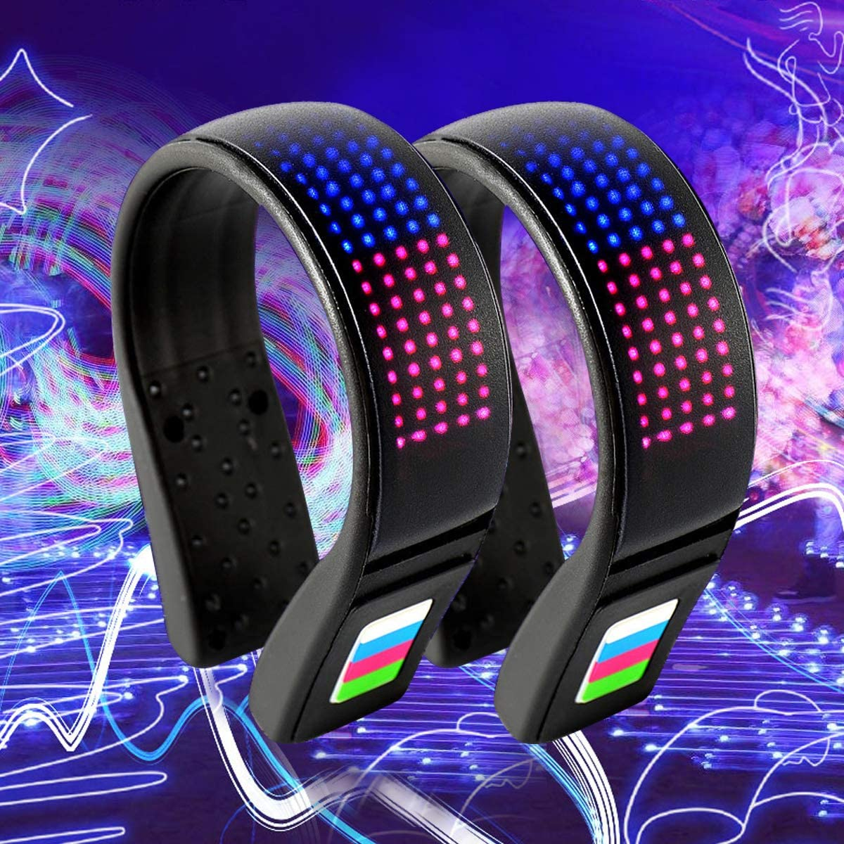Coolnice Shoe Lights for Runners Clip on Safety Lights for Runners Walkers Led Shoe Clips Lights USB Charging IP67 Waterproof Reflective Gear for Runners 11 Flash Modes