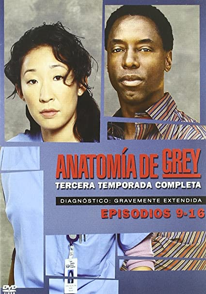 Amazon.com: Anatomia De Grey - Temporada 3 (Import Movie) (European Format - Zone 2) (2007) Patrick Dempsey; Katherine: Movies & TV