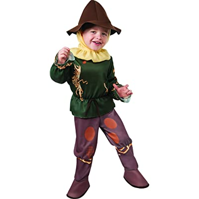 Rubie's Baby's Wizard Of Oz 75Th Anniversary Scarecrow Toddler Costume, Multi, Toddler: Clothing