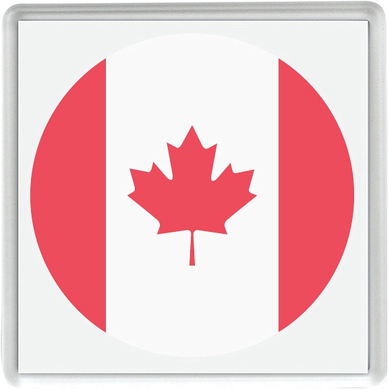 Im/án para nevera con dise/ño de la bandera de Canad/á