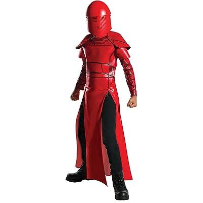 Star Wars Episode VIII - The Last Jedi Deluxe Child Praetorian Guard Costume: Toys & Games