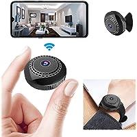 Mini WiFi Spy Camera 1080P, Wireless Hidden Spy Cam Audio and Video Recording Live Feed, Home Security Nanny Camera/Auto…