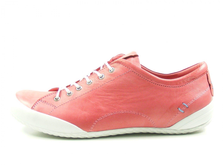 Andrea Conti 0340559 Zapatos de Cuero para Mujer 39 EU|Rot