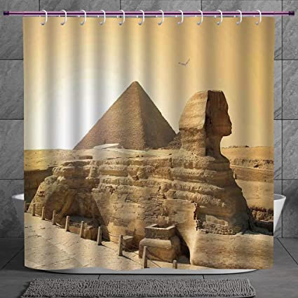 Cool Shower Curtain 20 Ancient DecorEgyptian Pyramids Famous Great Landmark Wonders Of The