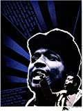 PROPAGANDA POLITICAL CIVIL RIGHTS EQUALITY BLACK PANTHER FRED HAMPTON MARTYR 18x24 INCH ART POSTER PRINT PICTURE LV6967