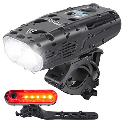 Cycling LED Rear Tail Light Bike Bicycle Front Headlight Set USB Rechargeable