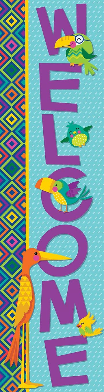 Eureka You Can Toucan, Welcome Banners, Vertical (849030)