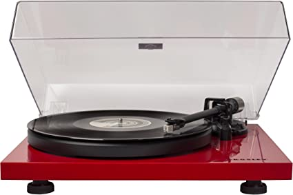 Crosley C6a Re 2 Speed Belt Driven Turntable With Built In Pre Amp Red Amazon Ca Electronics