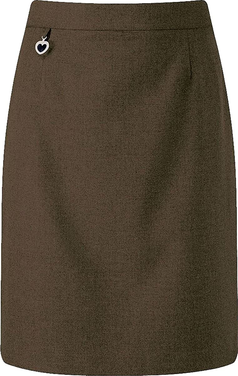 Banner Junior Skirt Elastic Plain Polyester-Viscose Knee High Lined Schoolwear