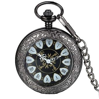 Jewelry & Watches Other Watches 1 X Montre De Gousset/montre De Poche Retro-style Chiffres Romains Cadran En Sc
