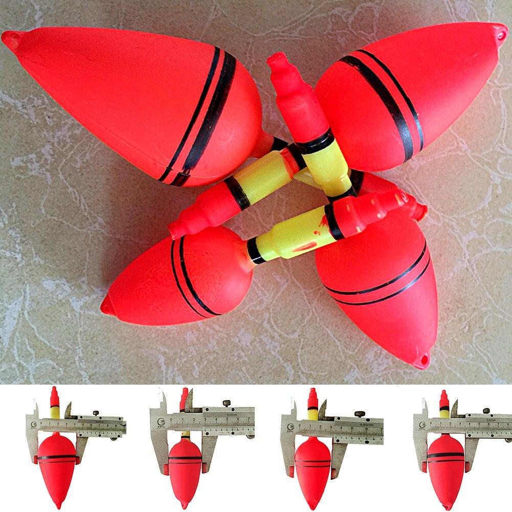 Tookie Flotadores de Pesca, plástico, Palo de Flotación, Pesca, Pesca, Pesca, Pesca, Pesca, 10 Unidades, 3